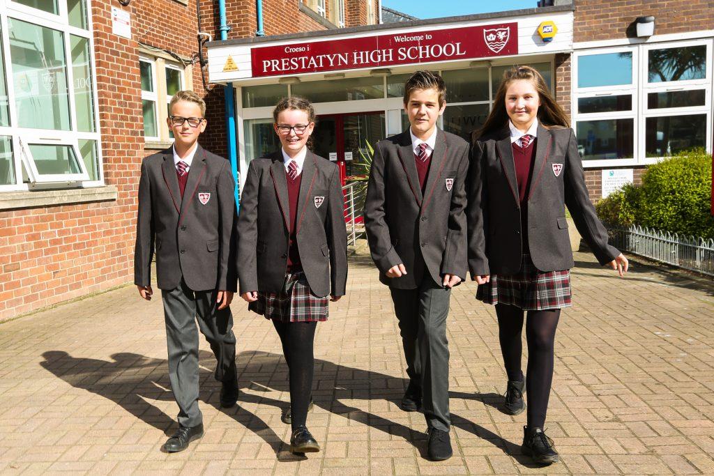Prestatyn High Introduce New School Uniform For Sept 2018